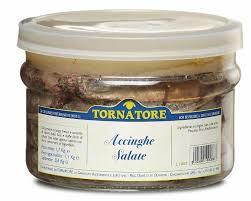Acciughe salate kg.1
