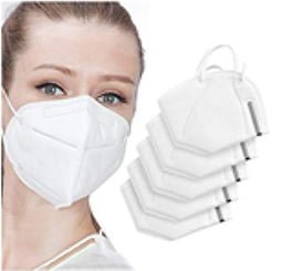Mascherine ffp2 ( CE 2163 PPE 670)